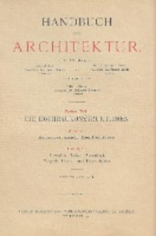 Raumbegrenzende Konstruktionen. H. 3, b, Gewölbte Decken