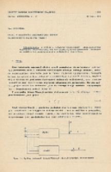 Uwagi o zbieżności rekurencyjnej metody najmniejszych kwadratów (RMNK)