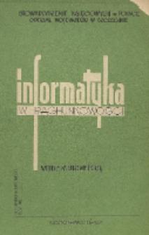 Informatyka w rachunkowości : materiały na kursokonferencję