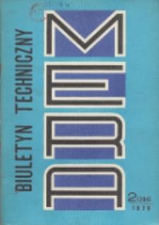 MERA : biuletyn przemysłu komputerowych systemów automatyzacji i pomiarów, Nr 2 (204)
