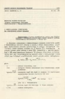 O pewnym rachunku operatorowym dla nieliniowych równań dynamiki