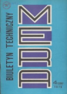 MERA : biuletyn przemysłu komputerowych systemów automatyzacji i pomiarów, Nr 4 (206)