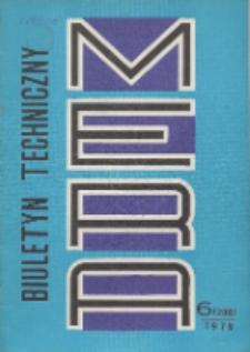 MERA : biuletyn przemysłu komputerowych systemów automatyzacji i pomiarów, Nr 6 (208)