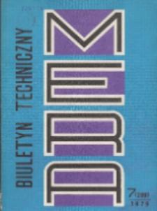 MERA : biuletyn przemysłu komputerowych systemów automatyzacji i pomiarów, Nr 7 (209)