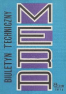 MERA : biuletyn przemysłu komputerowych systemów automatyzacji i pomiarów, Nr 8 (210)