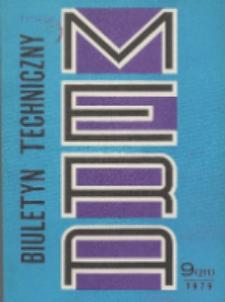 MERA : biuletyn przemysłu komputerowych systemów automatyzacji i pomiarów, Nr 9 (211)