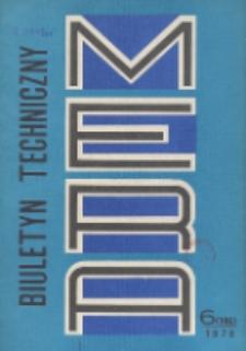 MERA : biuletyn przemysłu komputerowych systemów automatyzacji i pomiarów, Nr 6 (196)