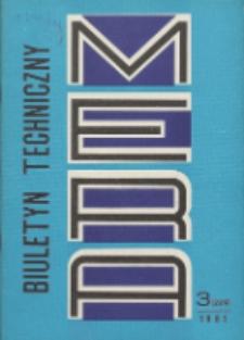 MERA : biuletyn przemysłu komputerowych systemów automatyzacji i pomiarów, Nr 3 (229)