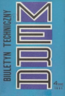 MERA : biuletyn przemysłu komputerowych systemów automatyzacji i pomiarów, Nr 4 (230)