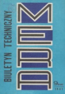 MERA : biuletyn przemysłu komputerowych systemów automatyzacji i pomiarów, Nr 9 (235)