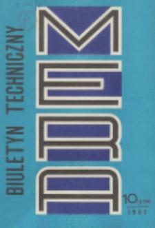 MERA : biuletyn przemysłu komputerowych systemów automatyzacji i pomiarów, Nr 10 (236)
