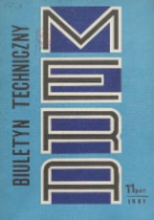 MERA : biuletyn przemysłu komputerowych systemów automatyzacji i pomiarów, Nr 11 (237)