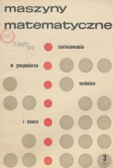 Maszyny Matematyczne Nr 3