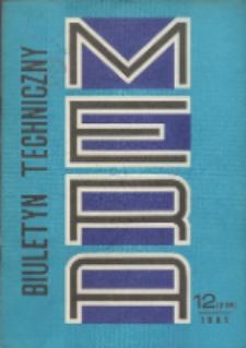 MERA : biuletyn przemysłu komputerowych systemów automatyzacji i pomiarów, Nr 12 (238)