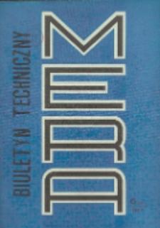 MERA : biuletyn przemysłu komputerowych systemów automatyzacji i pomiarów, Nr 6 (240)