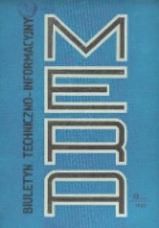 Biuletyn Techniczno-Informacyjny MERA, Nr 8 (242)