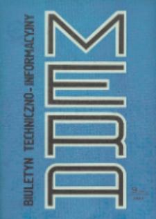 Biuletyn Techniczno-Informacyjny MERA, Nr 9 (243)
