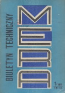 MERA : biuletyn przemysłu komputerowych systemów automatyzacji i pomiarów, Nr 1 (191)