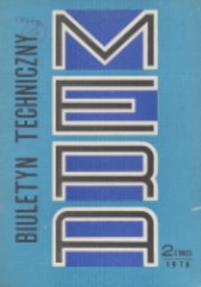 MERA : biuletyn przemysłu komputerowych systemów automatyzacji i pomiarów, Nr 2 (192)