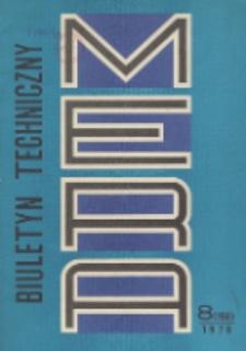 MERA : biuletyn przemysłu komputerowych systemów automatyzacji i pomiarów, Nr 8 (198)