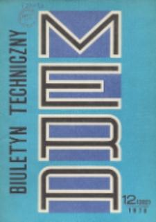 MERA : biuletyn przemysłu komputerowych systemów automatyzacji i pomiarów, Nr 12 (202)