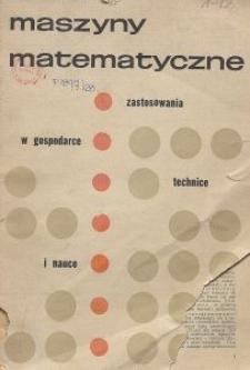 Maszyny Matematyczne Nr 1-2