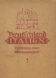 Deutschland, Italien : Denkstätten einer Völkergemeinschaft. Bd. 1