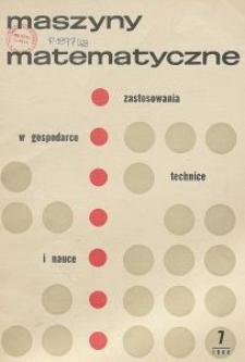 Maszyny Matematyczne Nr 7