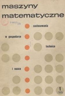 Maszyny Matematyczne Nr 1