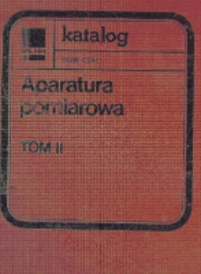 Mierniki tablicowe i tablicowo-aparatowe : karty katalogowe. Tom 2