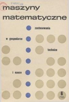 Maszyny Matematyczne Nr 6