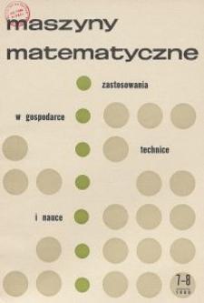 Maszyny Matematyczne Nr 7-8