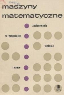 Maszyny Matematyczne Nr 10