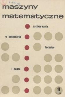 Maszyny Matematyczne Nr 11