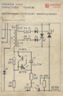 Zastosowania tyrystorów niskoprądowych : informator techniczny 1976