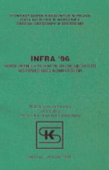 """INFRA' 96 : """"Normowanie systemów rachunkowości wspomaganej komputerem"""" : materiały na konferencję, Kołobrzeg, wrzesień 1996r."""