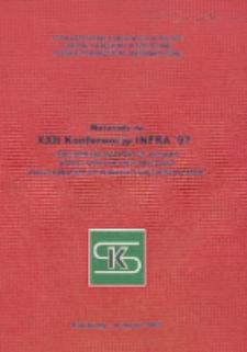 """Materiały na XXII Konferencję INFRA'97 """"Specyfikacja ustawowych wymagań wobec systemów informatyczznych wspomagających prowadzenie ksiąg rachunkowych"""", Kołobrzeg, wrzesień 1997r."""