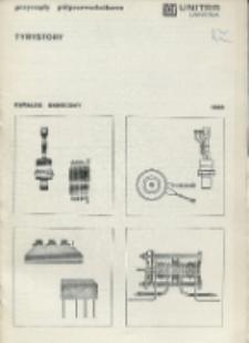 Tyrystory : katalog skrócony