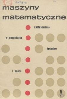 Maszyny Matematyczne Nr 5