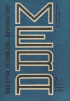 Biuletyn Techniczno-Informacyjny MERA, Nr 3-4 (297-298)