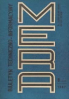 Biuletyn Techniczno-Informacyjny MERA, Nr 8 (302)