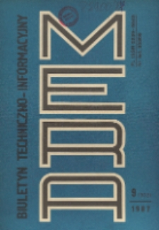 Biuletyn Techniczno-Informacyjny MERA, Nr 9 (303)
