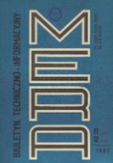 Biuletyn Techniczno-Informacyjny MERA, Nr 11-12 (305-306)