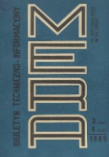 Biuletyn Techniczno-Informacyjny MERA, Nr 3-4 (309-310)