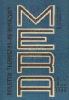 Biuletyn Techniczno-Informacyjny MERA, Nr 5-6 (311-312)