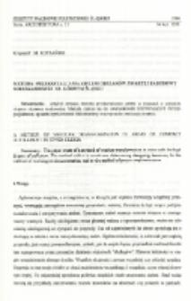 Metoda przekształcania zieleni obszarów zwartej zabudowy mieszkaniowej na Górnym Śląsku