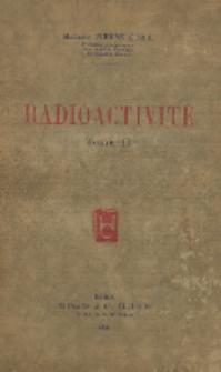 Radioactivité. T. 2