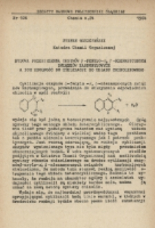 Budowa przestrzenna oksymów β-fenylo-α, β-nienasyconych związków karbonylowych a ich zdolność do cyklizacji do układu chinolinowego