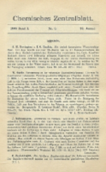 Chemisches Zentralblatt : vollständiges Repertorium für alle Zweige der reinen und angewandten Chemie, Jg. 79, Bd. 1, Nr. 3