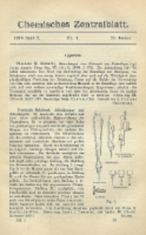 Chemisches Zentralblatt : vollständiges Repertorium für alle Zweige der reinen und angewandten Chemie, Jg. 79, Bd. 1, Nr. 4